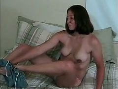 Newcomer Getting Her Brown Ass Fucked
