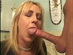 Horny Mature Seduces A Big Cock