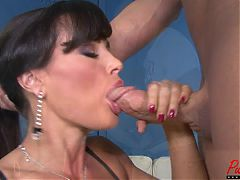 Watch Mega Star Lisa Ann Get Fucked And Creampied