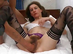 Skinny French Hairy Mature Deeply Fisted And Sodomized