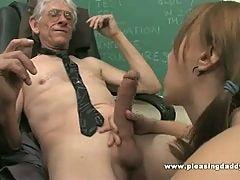 Schoolgirl Wants To Pass The Class