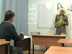 Russian Student Fucks Teacher