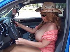 Cowgirl Truckin