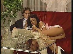 Anita Dark Amp Sylvia Laurent In Foursome