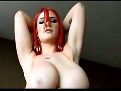 Bit Tit Solo Anal Masturbation