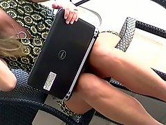 Sexy Mature Upskirt