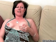 British MILF With Big Boobs And Hairy Pussy Is Cheating