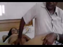 Desi Mature With Old Horny Client