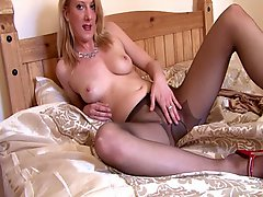 Attractive MILF In Pantyhose