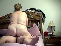 Bbw Wife Wrapping Her Pussy Lips Around My Cock And Fucking Me