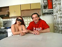 Masked Redhead MILF Makes Her Hard Debut