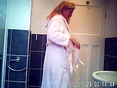 Hidden Cam In Bath Room Finally Caught My Cute Mom Nude