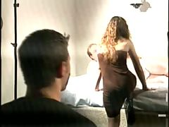Tied Up Husband Watches Wife Ride Fat Dude