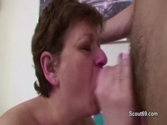 Young Boy Wake Up German Mom To Make First Anal Fuck