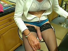 Mature Cd With Amazingly Long Cock Part 2