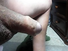 68 Yrold Grandpa 148 Mature Cum Close Closeup Wank Uncut