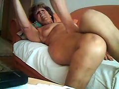 Old Wife Is Very Horny