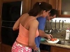 Head Cook In Action With A Horny Housewife F70