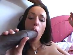 3 Hung Black Cocks For A White Girl