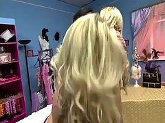 British Blonde Slut In A FFM Threesome With Jamie