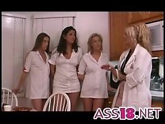 Mature Stud Bangs Slut In Nurse's Uniform Ass18