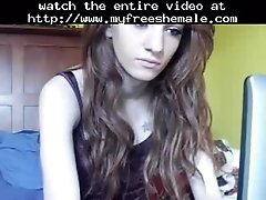Doll Face Shemale On Webcam Shemale Porn Shemales Tran