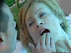 Dirty Mature Woman Gets Her Horny Wet Pussy Finger Fuck