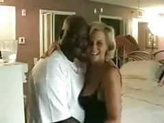 Mature Slut Wife Sucks And Fucks The Black Lover
