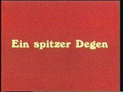 Vintage 70s German Ein Spitzer Degen Cc79