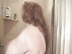 Huge Tit BBW In Shower