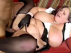 Plump Mom With Fat Tits And Black Guy With Huge Dick