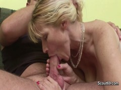 Step Son Seduce His Step Mother To Fuck When Dad Away