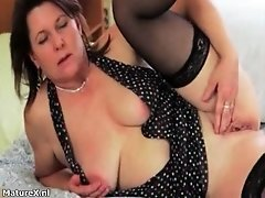 Brunette Mature Slut Is So Nasty And She Likes To Destr