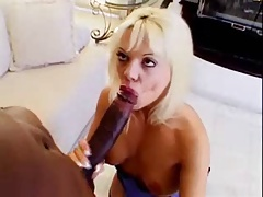 Milf Bubble Blowing A Big Black Cock