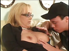 Mature Cougar Gets Off On Younger Dick