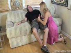 Two Blondes Suck A Boner