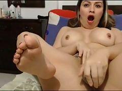 Latina Masturbate Creamy Orgasm Dirty Squirt Anal