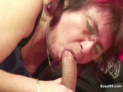43yr Old German Mother Seduce 18yr Old Step Son To Fuck Her