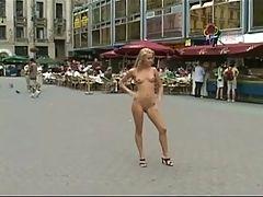 Cute Blonde Nude In Public Classic By Triplextroll