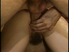 Hottie Sucks A Hard Cock On Couch