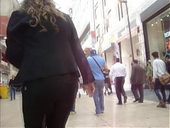 My Huge Cum On MILF In Public