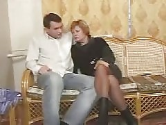 German Mature Mother And Her Boy