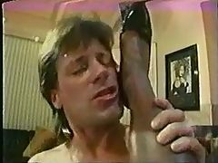 Vintage Ir Ebony Loves White Cock