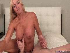 Ov40 Big Titted Step Mom Handjob