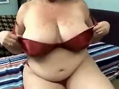 Huge Titted BBW MILF Sucking And Fucking