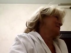 Hot 55 Yo Russian Mature Galina Play In Skype