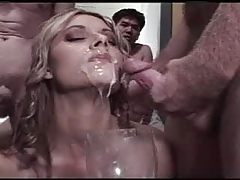 Bukkake Cum Drinking Swallowing Queen