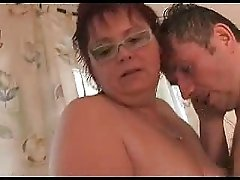 Nice Chubby Mature With Glasses