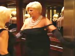 Lesbian Action 16 Two Classy Blonde Gilf