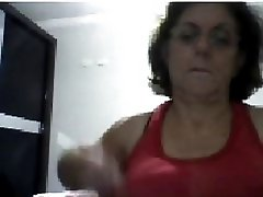 59 Yo Gilf Getting Of On Cam